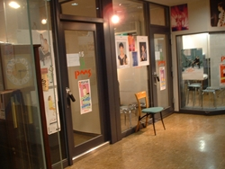 大人の音楽教室のレッスンルーム