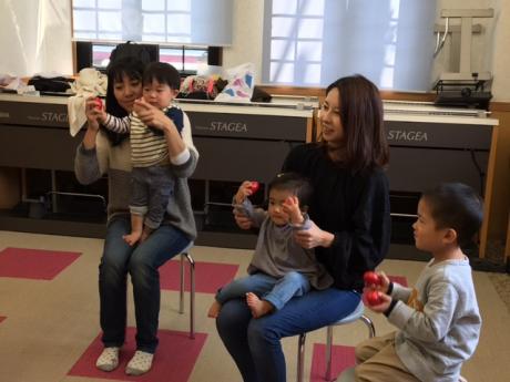 1歳児コース「らっきークラス」開講しました