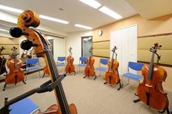 チェロのレッスンルーム