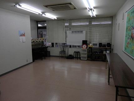 2階レッスン室(ボーカル)