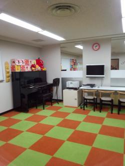 3歳までのお友達のお教室です。