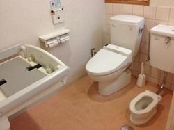 セキュリティ、トイレ