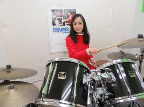 矢野先生(塚本センター ドラムにて)