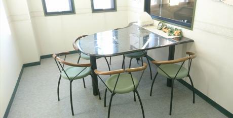 レッスン・教室の待合室