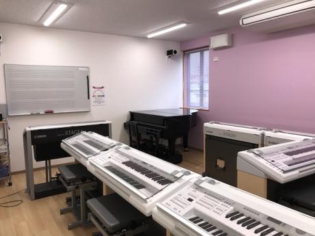 音楽教室内