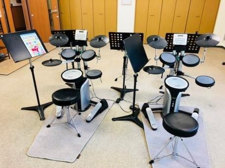 ドラムが人気!