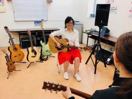 ギターが人気!