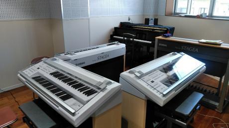 音楽室内部
