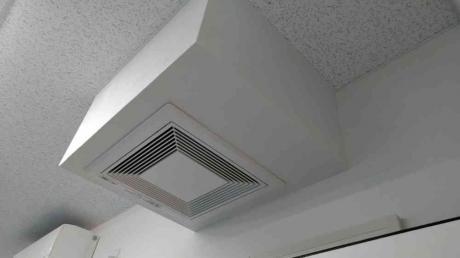 各お部屋に空調完備♬