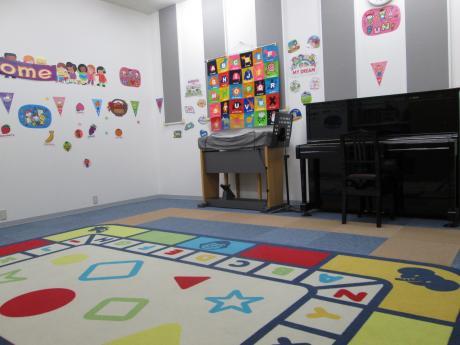 低年齢児向け音楽・英語レッスン部屋