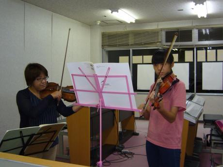 ヴァイオリン個人レッスン