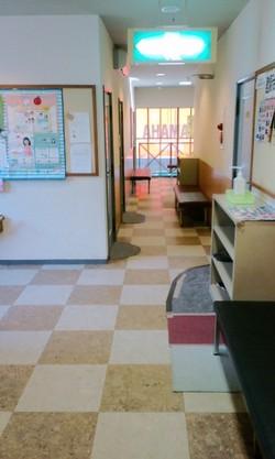 2階教室ロビー
