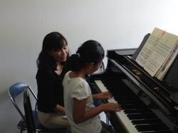 ピアノ個人レッスンのお友達