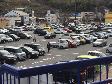 パルティフジ坂センターは約700台の駐車場完備!